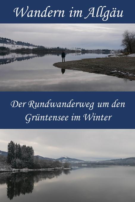 Rundwanderweg Grüntensee - Winterwanderung