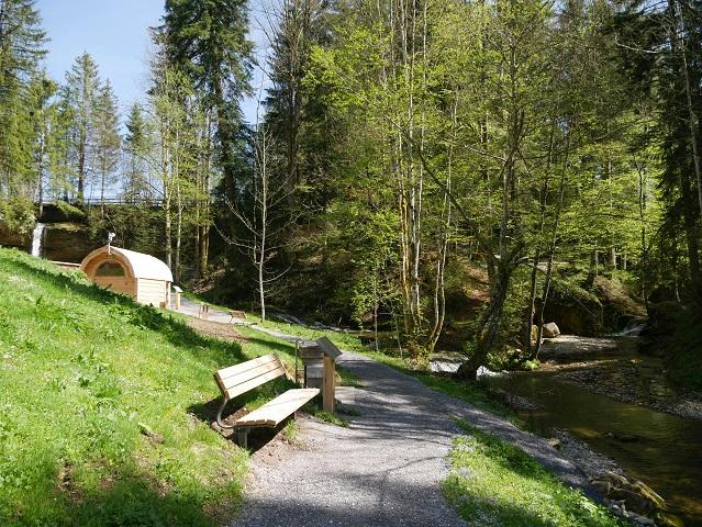 Rundweg an den Scheidegger Wasserfällen
