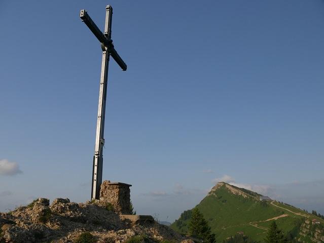 Gipfelkreuz auf dem Seelekopf bei Steibis