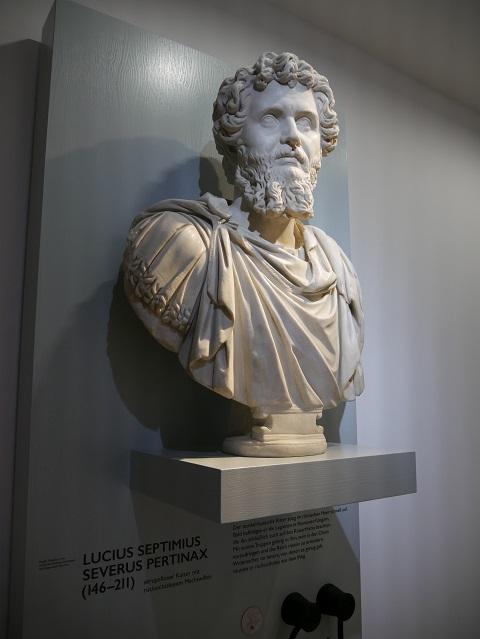 Kaiser Septimius Severus im Kempten-Museum