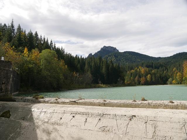 Staumauer am Lobentalbach