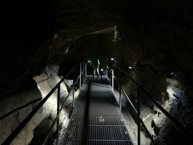 Steg in der Sturmannshöhle Obermaiselstein