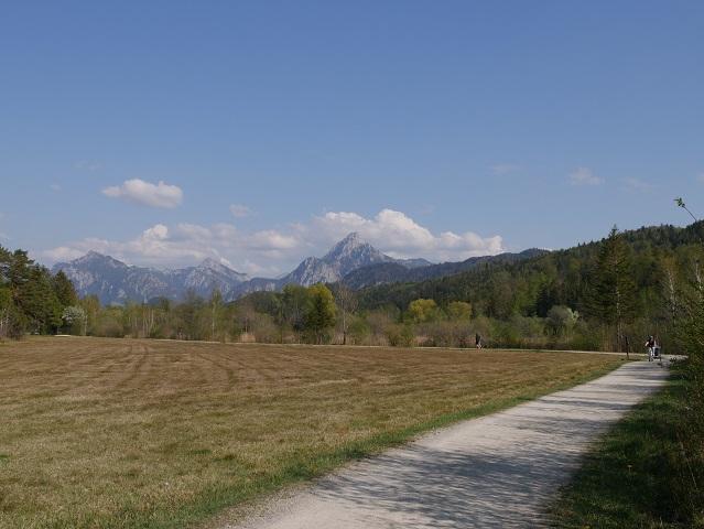 Wanderweg bei Füssen