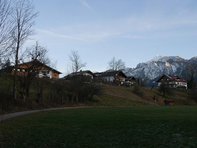 Spazierweg nach Schwangau