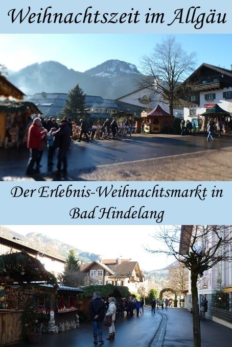 Weihnachtsmarkt Bad Hindelang im Allgäu