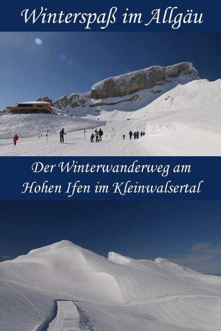 Winterwandern am Hohen Ifen im Kleinwalsertal