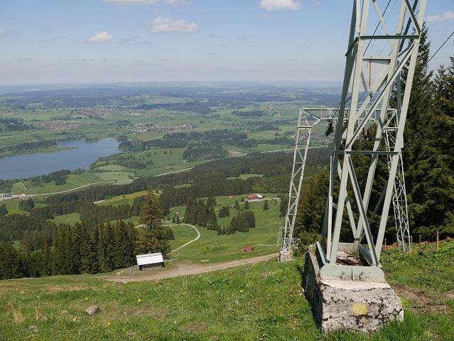an der Buronlift-Bergstation im Sommer