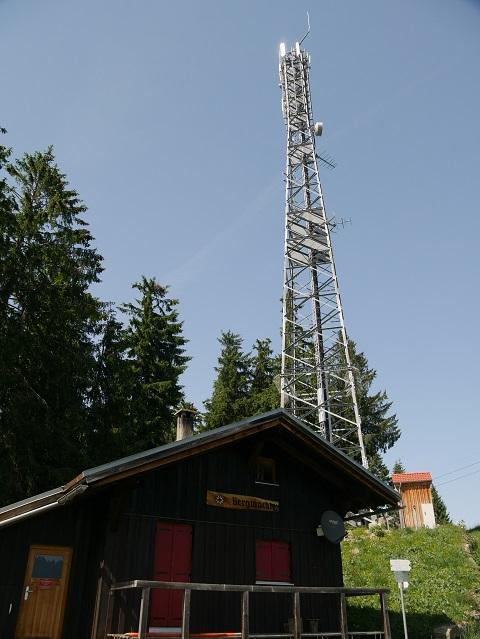 an der Bergstation der Schelpenbahn bei Balderschwang im Sommer