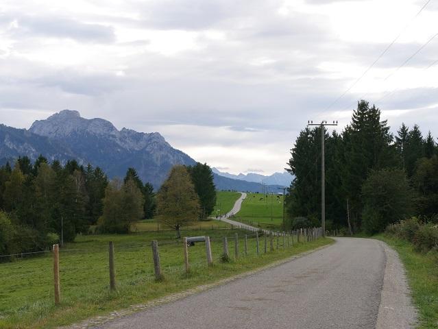 auf dem Forggenseeradweg