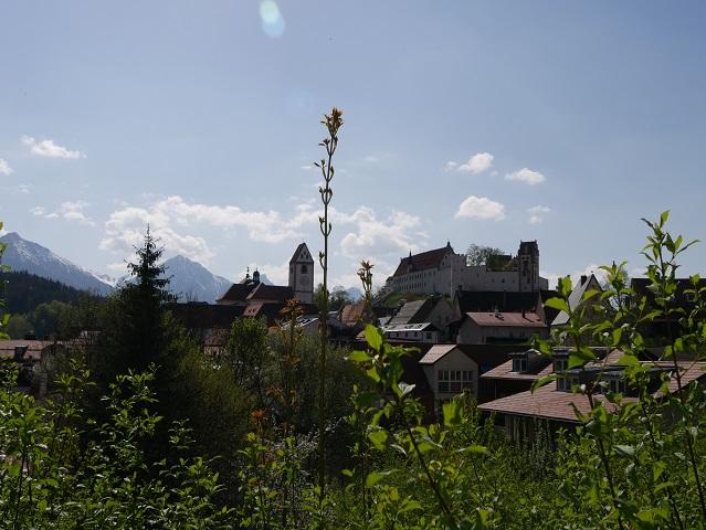 der Quaglio-Blick auf die Altstadt von Füssen