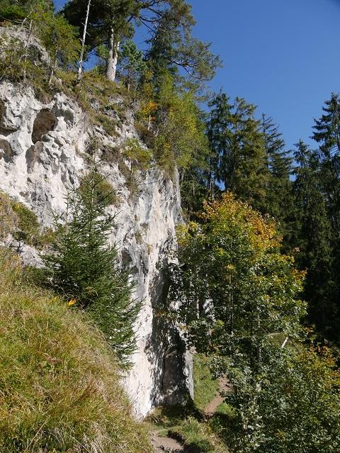 der Wildfräuleinstein bei Hinterstein