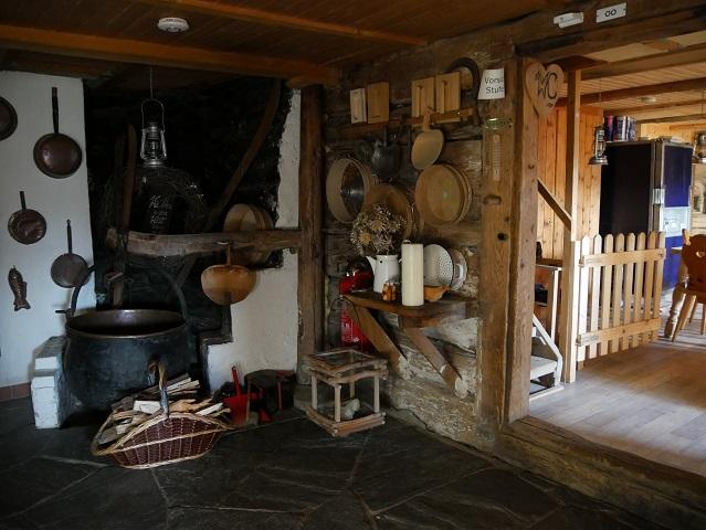 in der Burgl-Hütte bei Hittisau