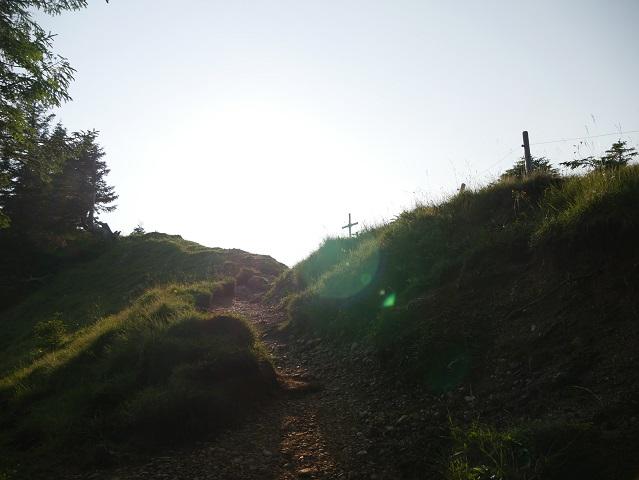 kurz vor dem Seelekopf-Gipfel