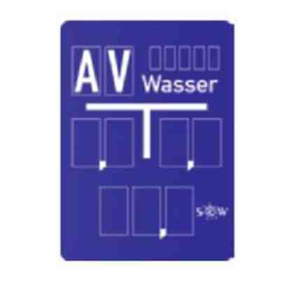 Hinweisschild -Wasser - Hausanschluss nach DIN 4067 C