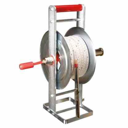 Kabellichtlot mit Metall-Haspel