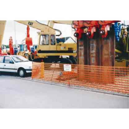 Signalisationsnetz bzw. Absperrnetz