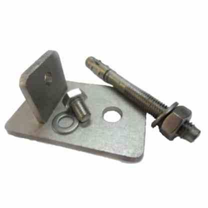 Fußhalter für Edelstahlleitern mit Holmen 40 x 20 mm Die Fußhalter für Edelstahlleitern werden außerdem natürlich als Paar geliefert.