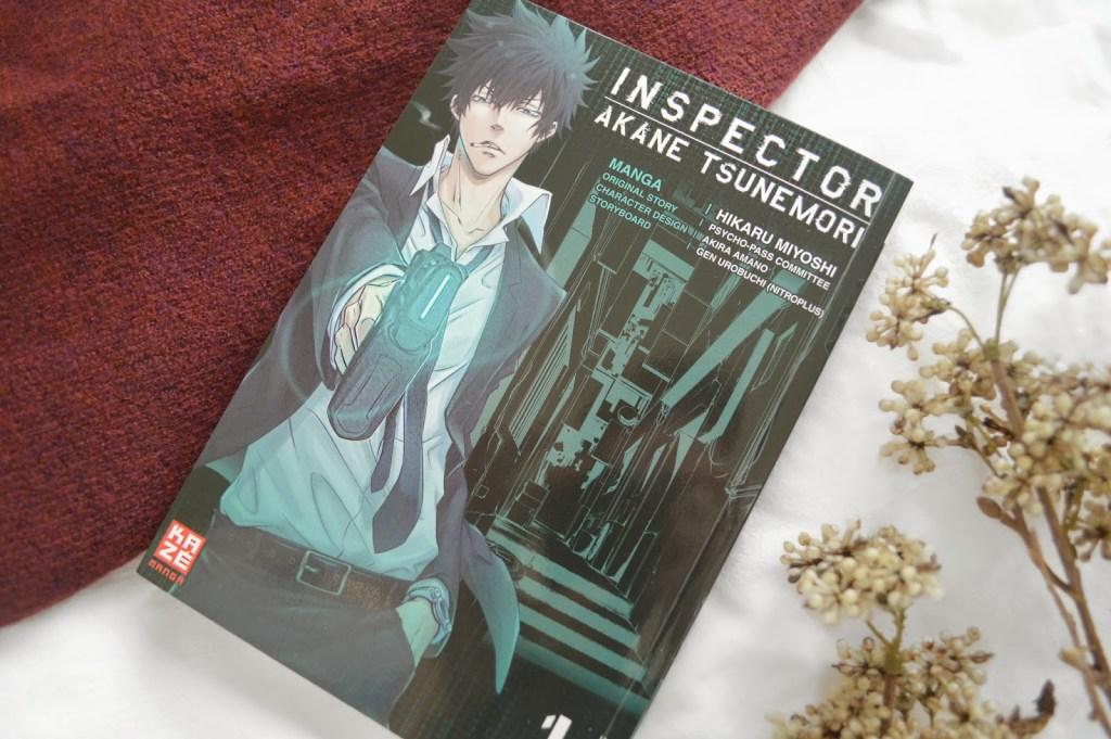 Rezension zu Inspector Akane Tsunemori, Band 1 (Psycho Pass)