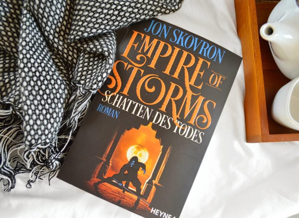 Rezension | Empire of Storms – Schatten des Todes von Jon Skovron