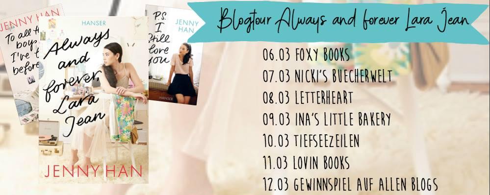 "BEENDET – Gewinnspiel | Blogtour ""Always and forever, Lara Jean"""