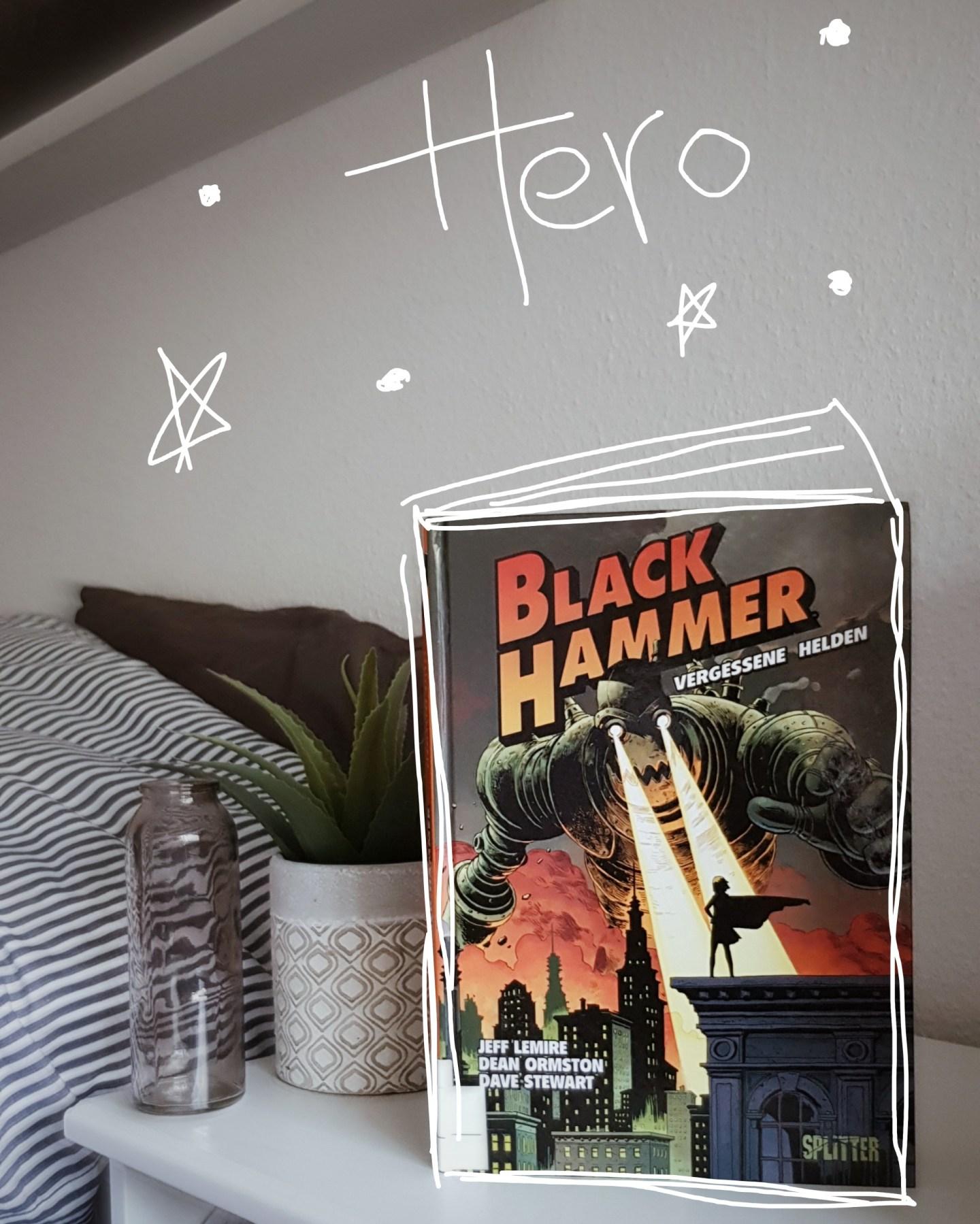 Kurze Rezension | Black Hammer: Vergessene Helden 1 von Lemire, Ormston, Stewart