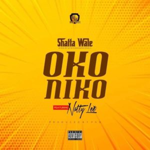 Shatta Wale features Natty Lee on his new tune titled Oko Niko.