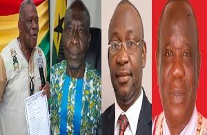 4 Volta Regional MDCEs Sacked