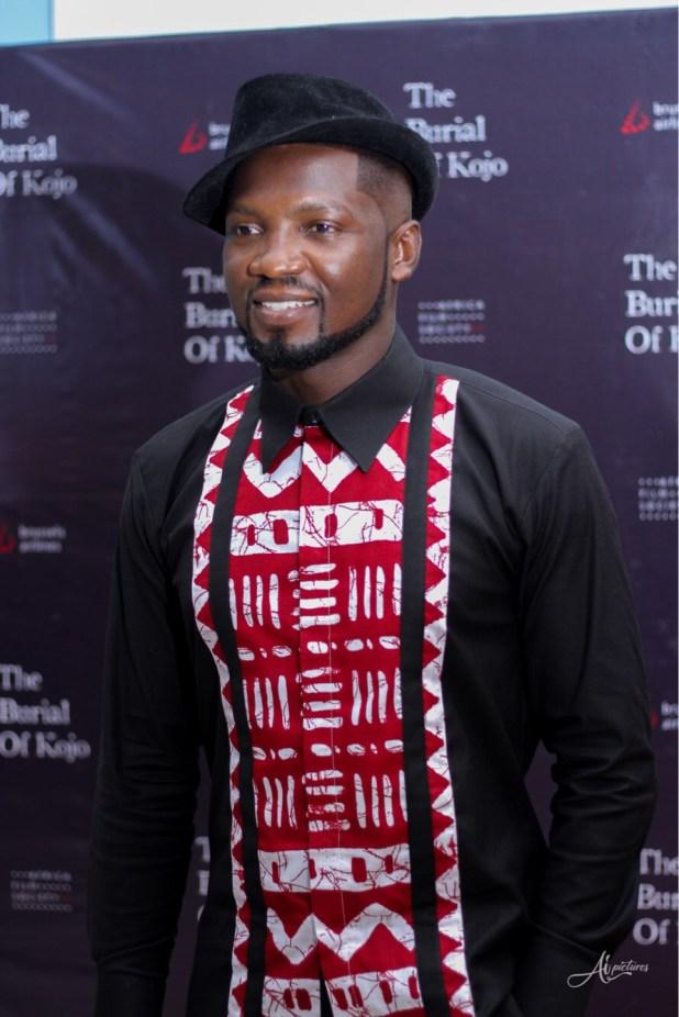 Kobina Sam Nominated For 2019 Africa Movie Academy Awards (AMAA) Honour