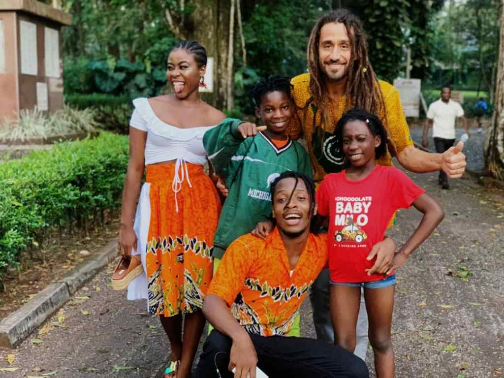 American music band and Billboard topping musical greats, Big mountain have arrived in Ghana to shoot visuals for their collaboration with Raingad.