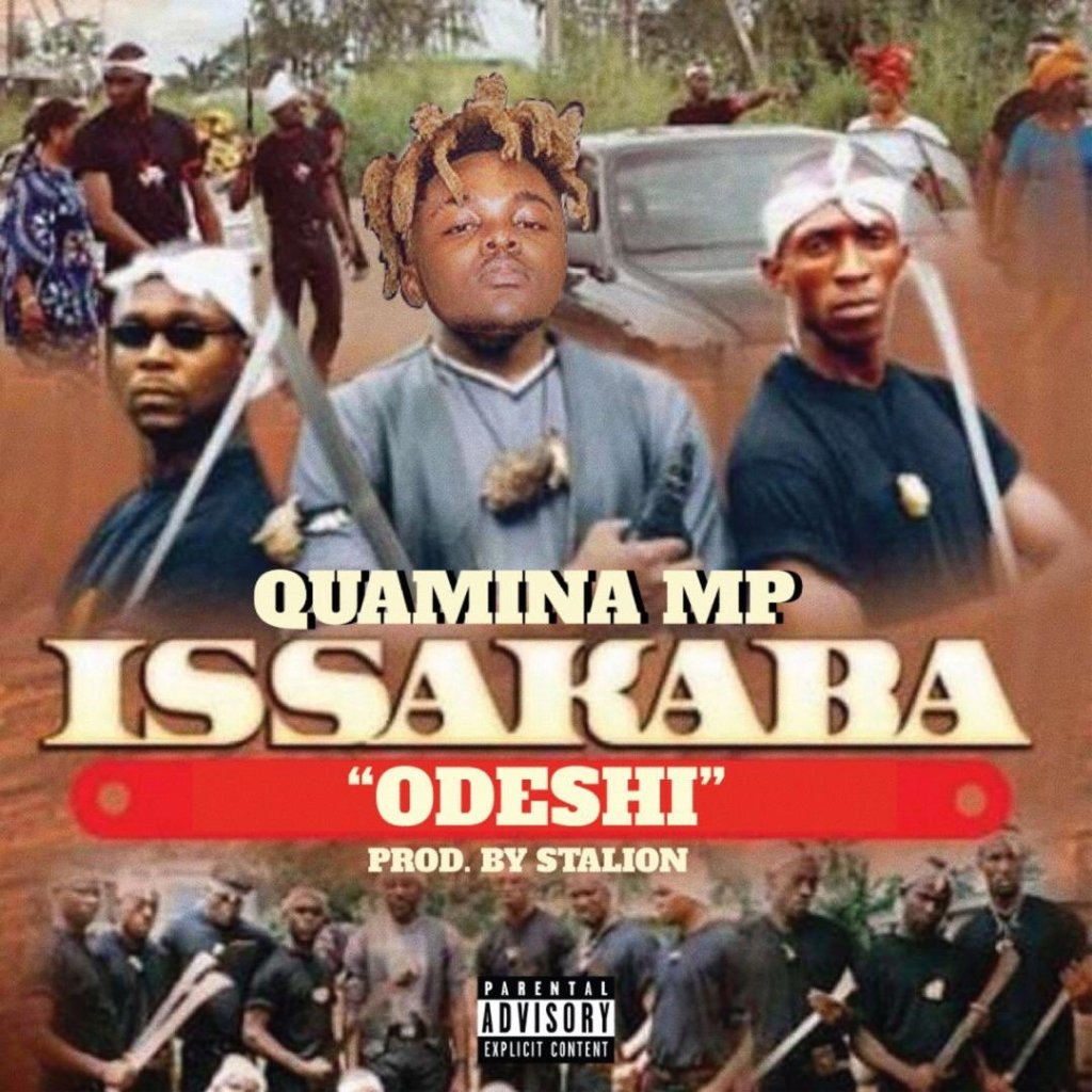 Quamina MP decided to bring out a new tune titled Issakaba (odeshi), a song produced by Stallion after he went to Tim Westwood's studio in London for an interview and his freestyle didn't pick up so well.