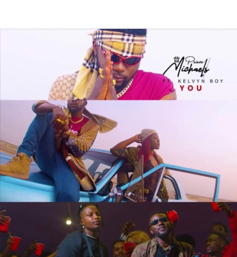 Singer Prince Michaels features Afrobeat bad man kelvyn Boy on his new tune titled You.