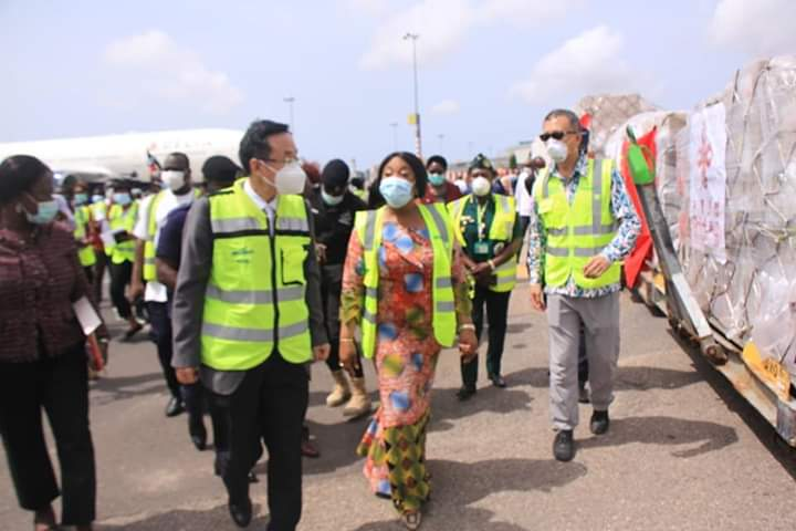 MINISTRY OF HEALTH RECEIVES MEDICAL SUPPLIES FROM 'CHINA AID' TO COMBAT COVID-19