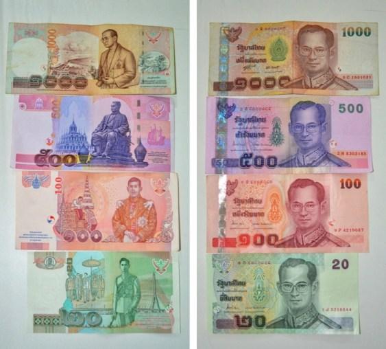 Thai Baht Bills