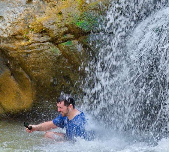 Under Waterfalls