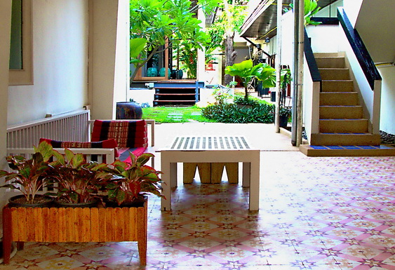 Nicely Decorated Outdoor Patio