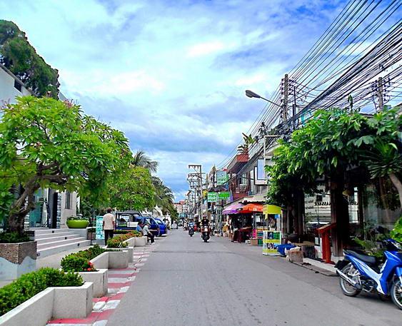Downtown Hua Hin, Thailand