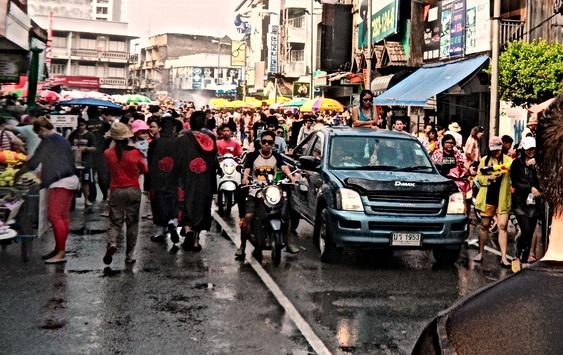 Songkran Street