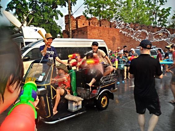 Songkran driver