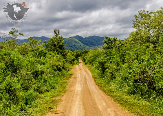 Dirt Roads in Kui Buri National Park