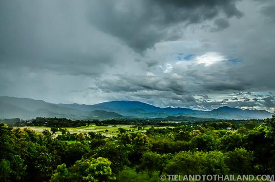 Trip to Pai Mountain Rain