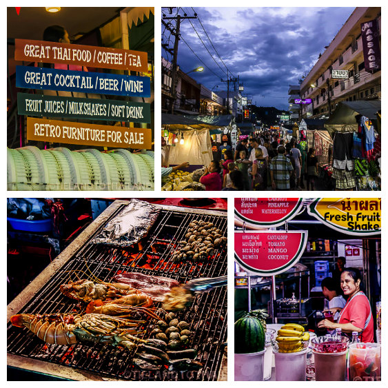 The best seafood in Hua Hin Night Market