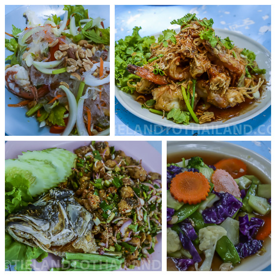 bahn hin rim haht restaurant eat seafood in hua hin