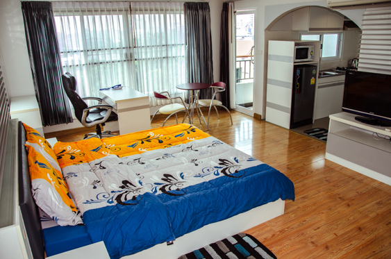Ban Jed Yod Delux Studio Apartment