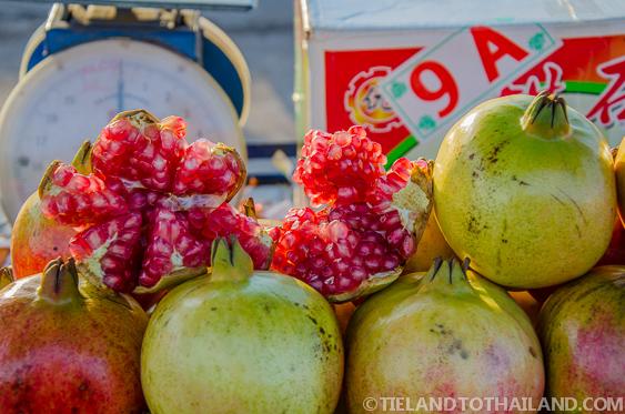 Thai Pomegranate Ban Khlong Luek Border Market