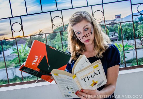 How do you teach yourself Thai?