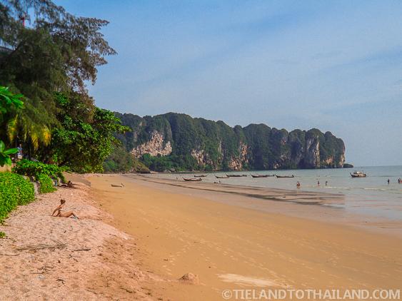 Visiting Ao Nang, Thailand