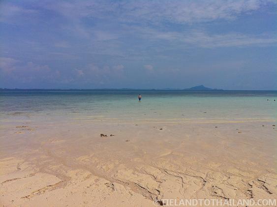 Empty Beach on Poda Island