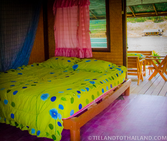 Mae Ngat Dam Floating Houses Single Room Cabins