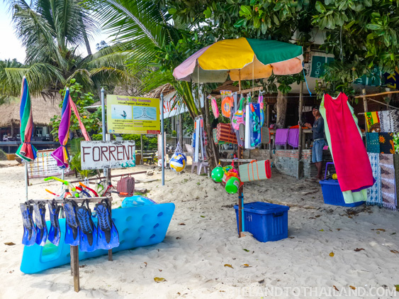 Nature Beach Resort snorkle and kayaking rentals