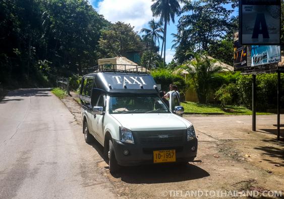 Koh Chang's Taxi